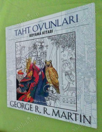 Taht Oyunlari Boyama Kitabi Mandala George R R Martin