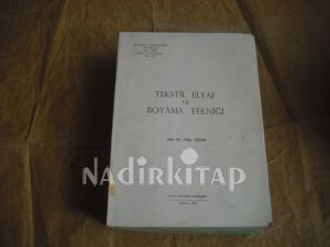 Tekstil Elyaf Ve Boyama Tekniği Yrddoç Dr Yildiz özcan Nadir