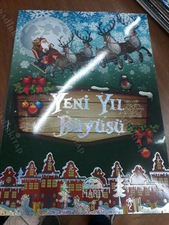 Yeni Yil Buyusu Boyama Kitabi Mandala Boyama Nadir Kitap