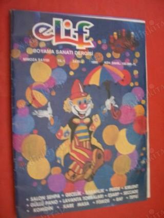 Elif Boyama Sanati Dergisi Sayi 2 Mimoza Sayisi Nadir Kitap