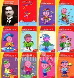 Okul öncesi Etkinlikler 12 Kitap 10 Etkinlik 1 Atatürk 1 Boyama Kitabi Kolektif Nadir Kitap