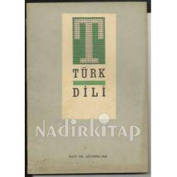 TÜRK DİLİ (143-1963) Türkiye'de Türk mimarisi-Niçin yazıyoruz } Jean-Paul  Sartre-Azınlık ve çoğunluk   Nadir Kitap