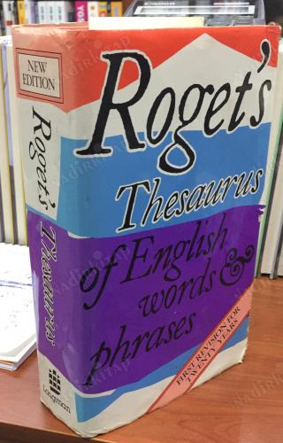 ROGET'S THESAURUS OF ENGLISH WORDS AND PHRASES - SUSAN M LLOYD | Nadir Kitap