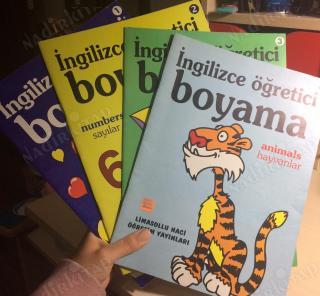 Ingilizce Ogretici Boyama 4 Kitap En Cok Kullanilan Kelimeler 3