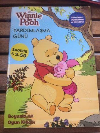 Disnep Winnie The Pooh Yardimlasma Gunu Boyama Kitabi Nadir Kitap