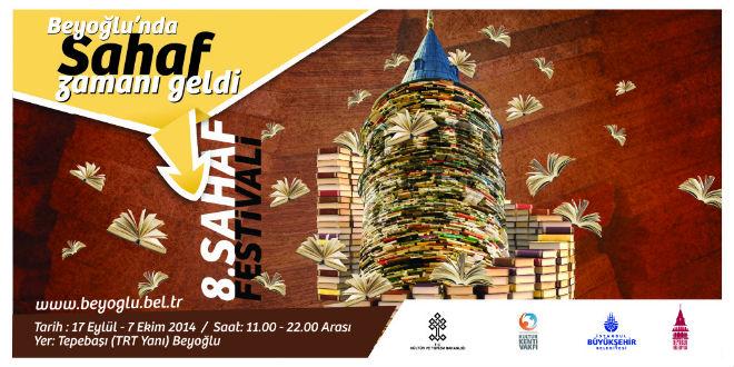 8. Beyoğlu Sahaf Festivali 2014