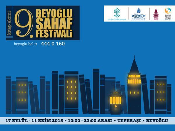 9. Beyoğlu Sahaf Festivali 2015